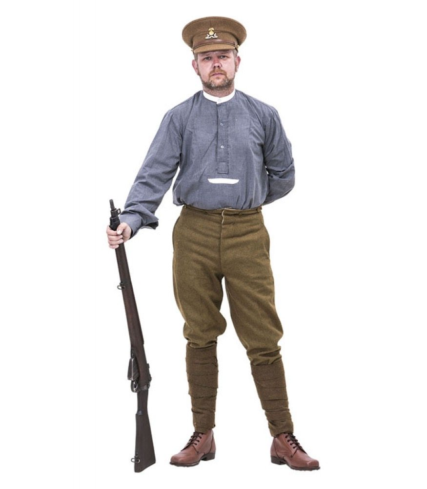 ww1 british army shirt