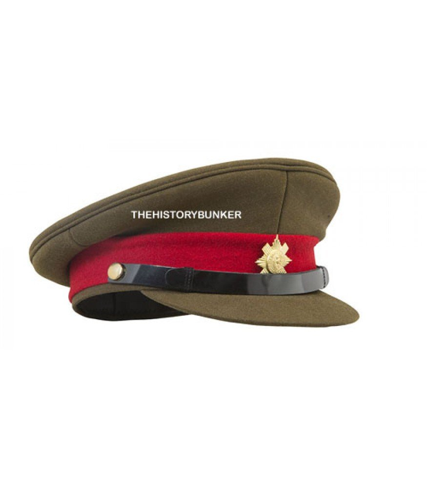 WW1 WW2 British army staff officer cap