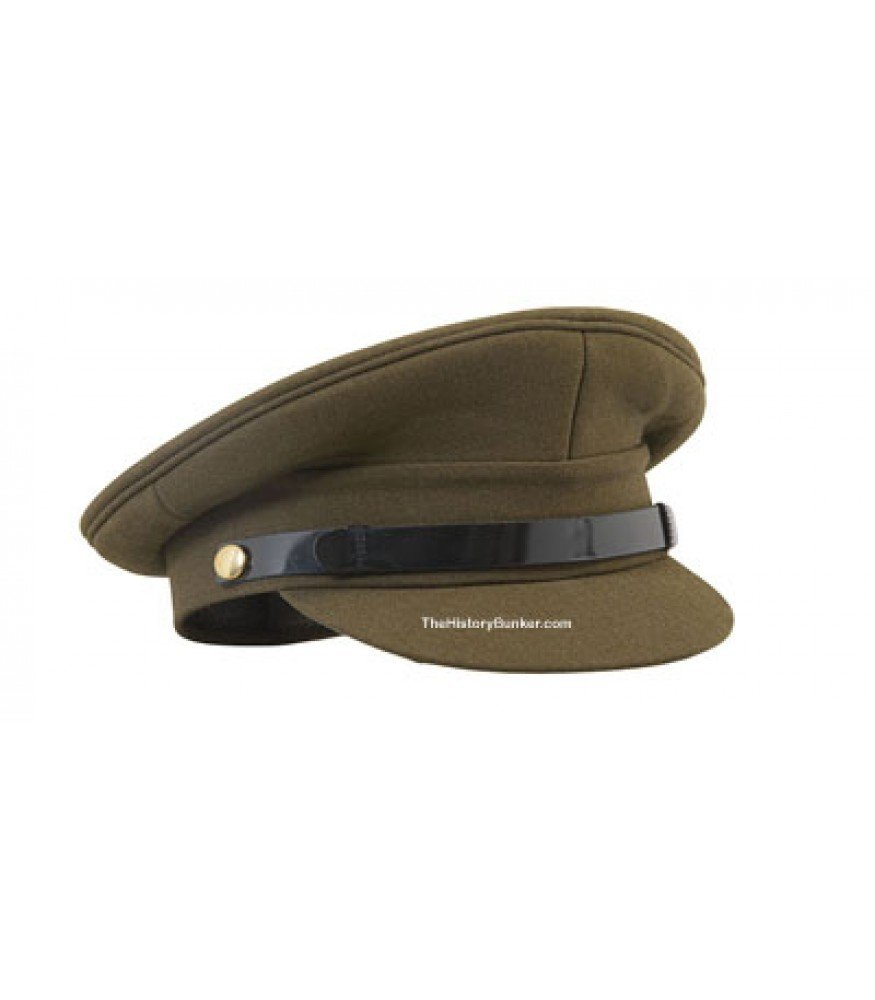 WW1 WW2 British army officer cap