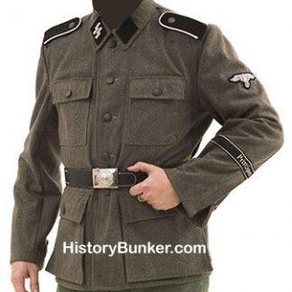 WW2 German SS soldiers tunic M43 wool