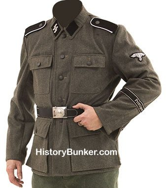 WW2 German SS soldiers tunic M43 wool