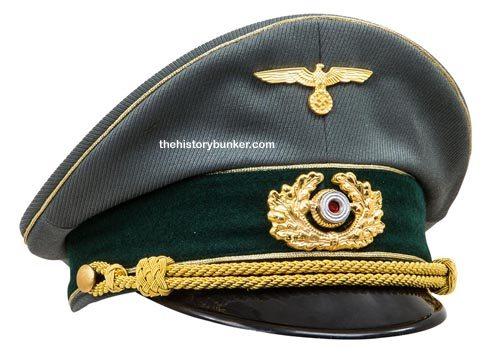 WW2 German Army Generals visor cap