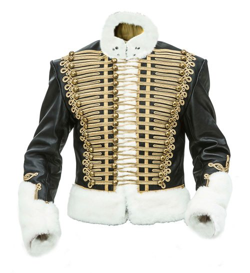 Leather Prussian Hussars Pelisse Jacket