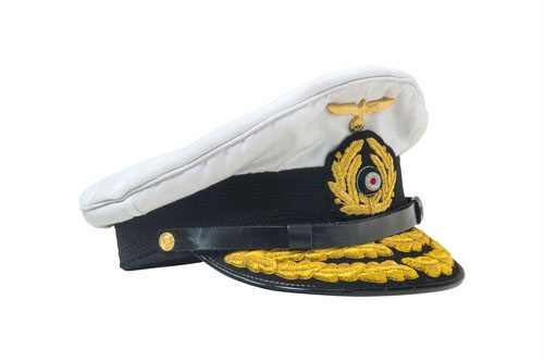 WW2 German Kriegsmarine Admirals cap