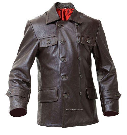 ww2 soviet tankers leather jacket