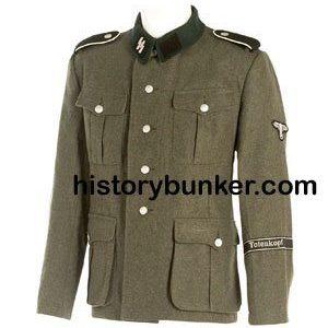 WW2 German SS soldiers tunic M36 wool