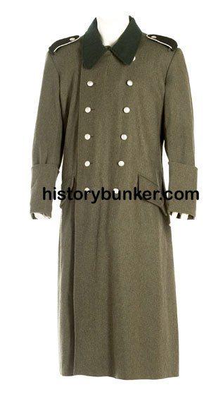 WW2 German Soldiers M36 wool overcoat