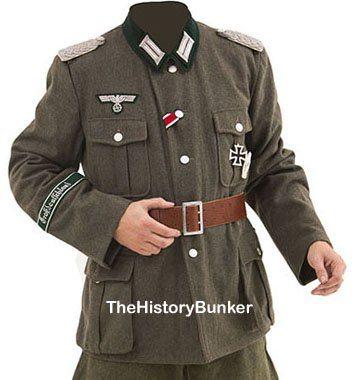 WW2 German Army officer tunic M36 wool