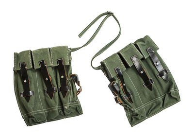 WW2 German MG43 ammo pouches