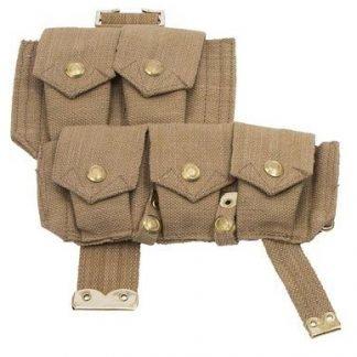 WW1 British P08 webbing ammo pouch right side