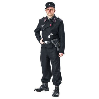 WW2 German Heer Panzer uniform