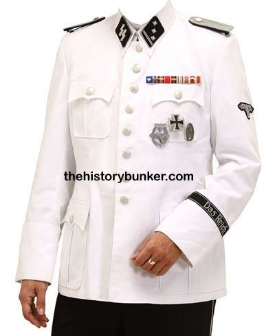 German SS officers M36 Summer tunic