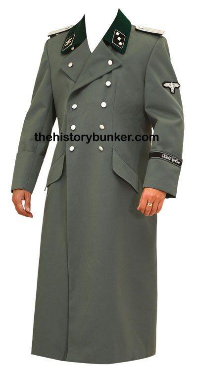 SS M36 German tricot overcoat