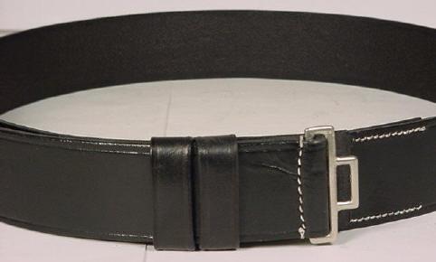 WW2 German SS officers leather belt