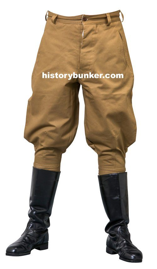 WW2 Italian M40 army Tropical breeches