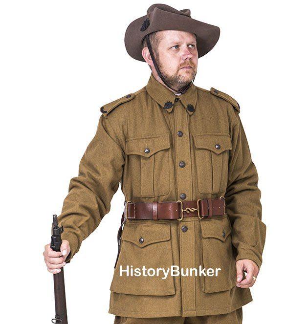 WW1 Australian ANZAC uniforms for hire