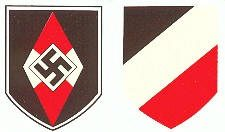 WW2 German Army Helmet Decal Hitler Youth