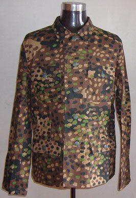 WW2 German Pea Dot camouflage m43 tunic