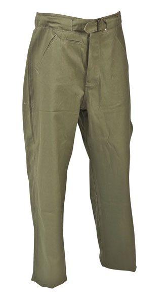 WW2 German Afrika Korps trousers Green