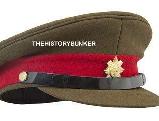 WW1 British caps and helmets