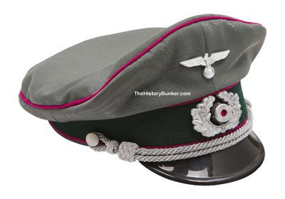 WW2 German Army officers tricot cap STAFF OFFICER