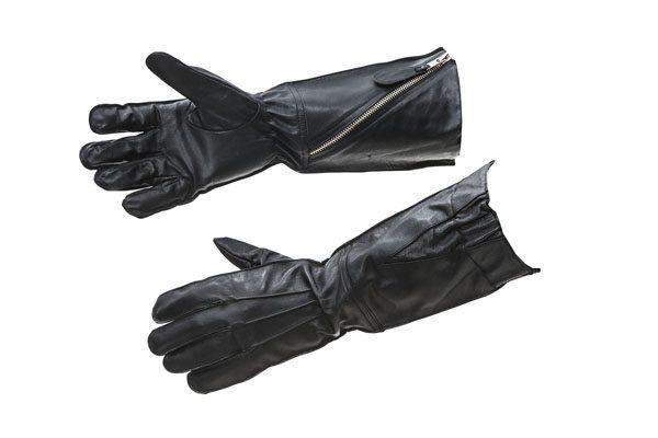 WW2 RAF flying gauntlets pattern 41 BLACK leather