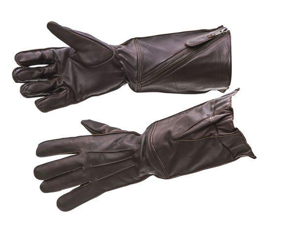 WW2 RAF flying gauntlets pattern 41 brown leather