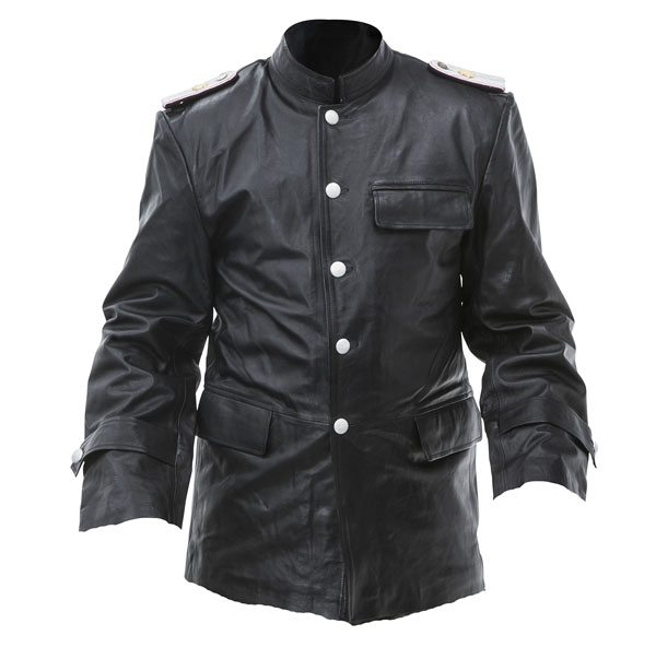 Michael Wittmann leather coat