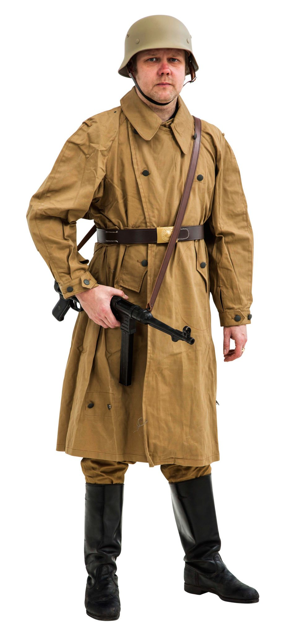 WW2 German Afrika Korps Windproof Motorcycle coat