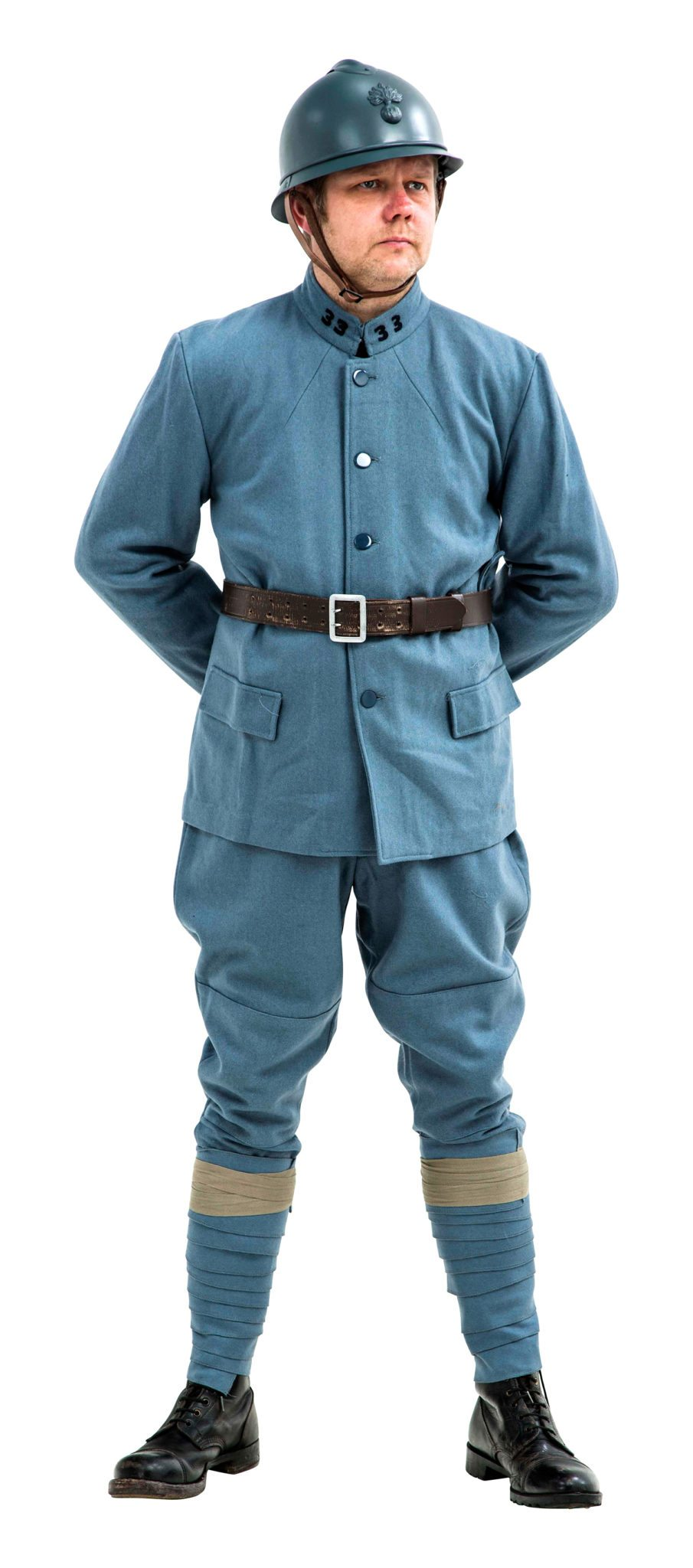 WW1 French army Uniform Horizon Blue 1915