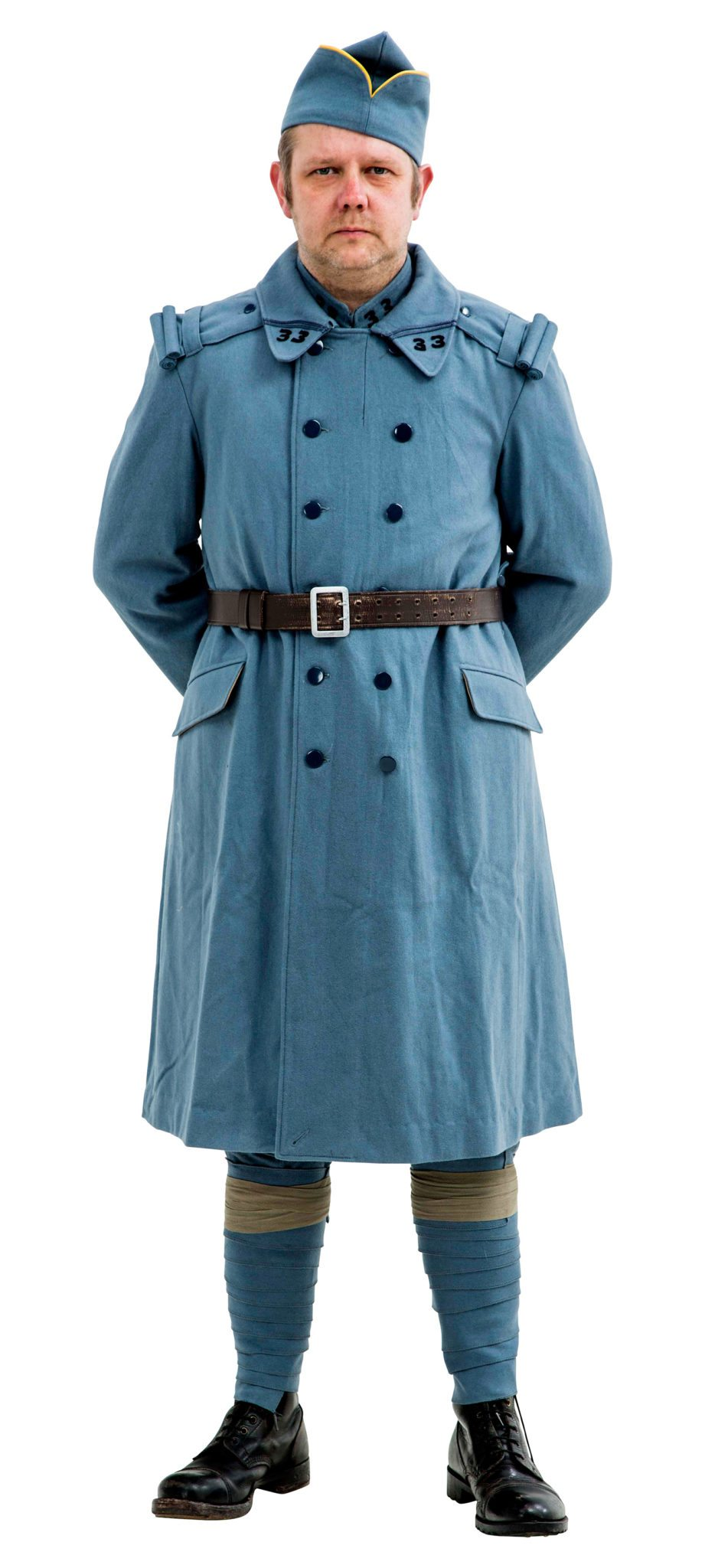 WW1 French army Overcoat Horizon Blue 1915