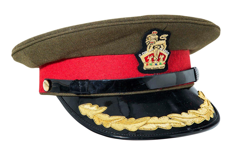 WW1 WW2 British army Colonel visor cap