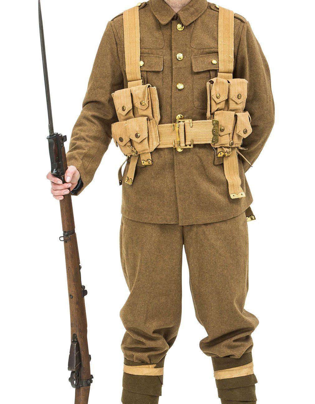 ww1 british soldiers uniform