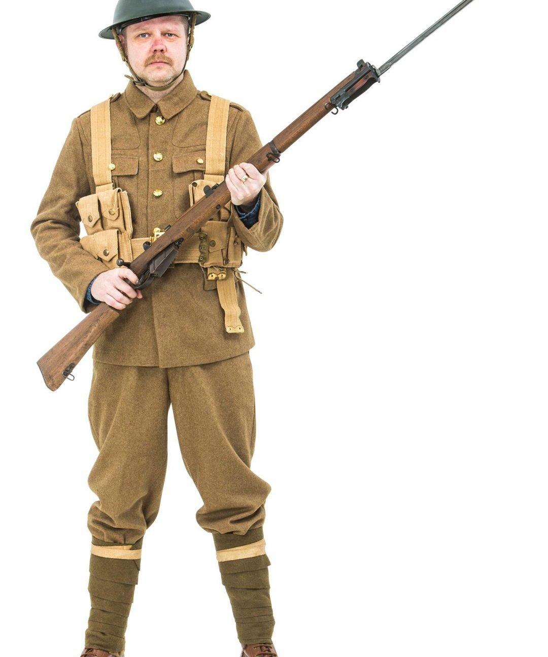 ww1 british army uniform