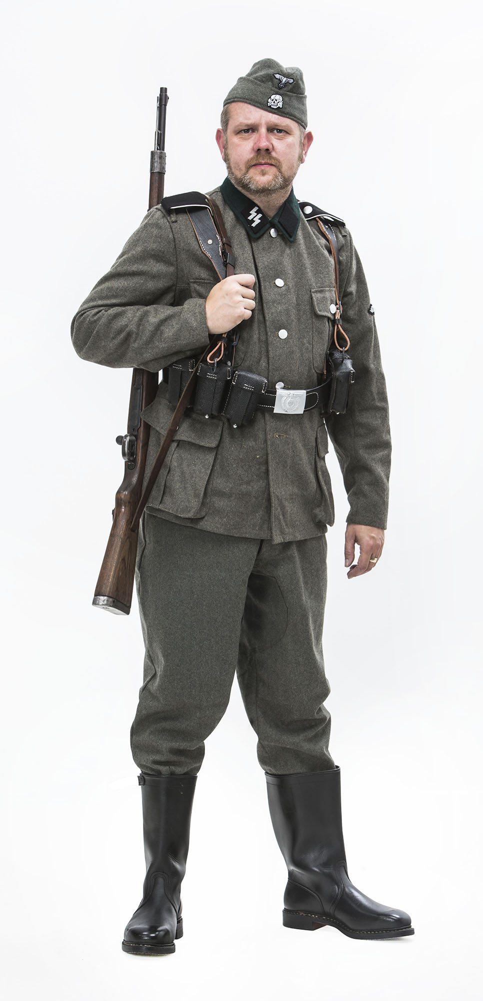WW2 German SS guard uniform