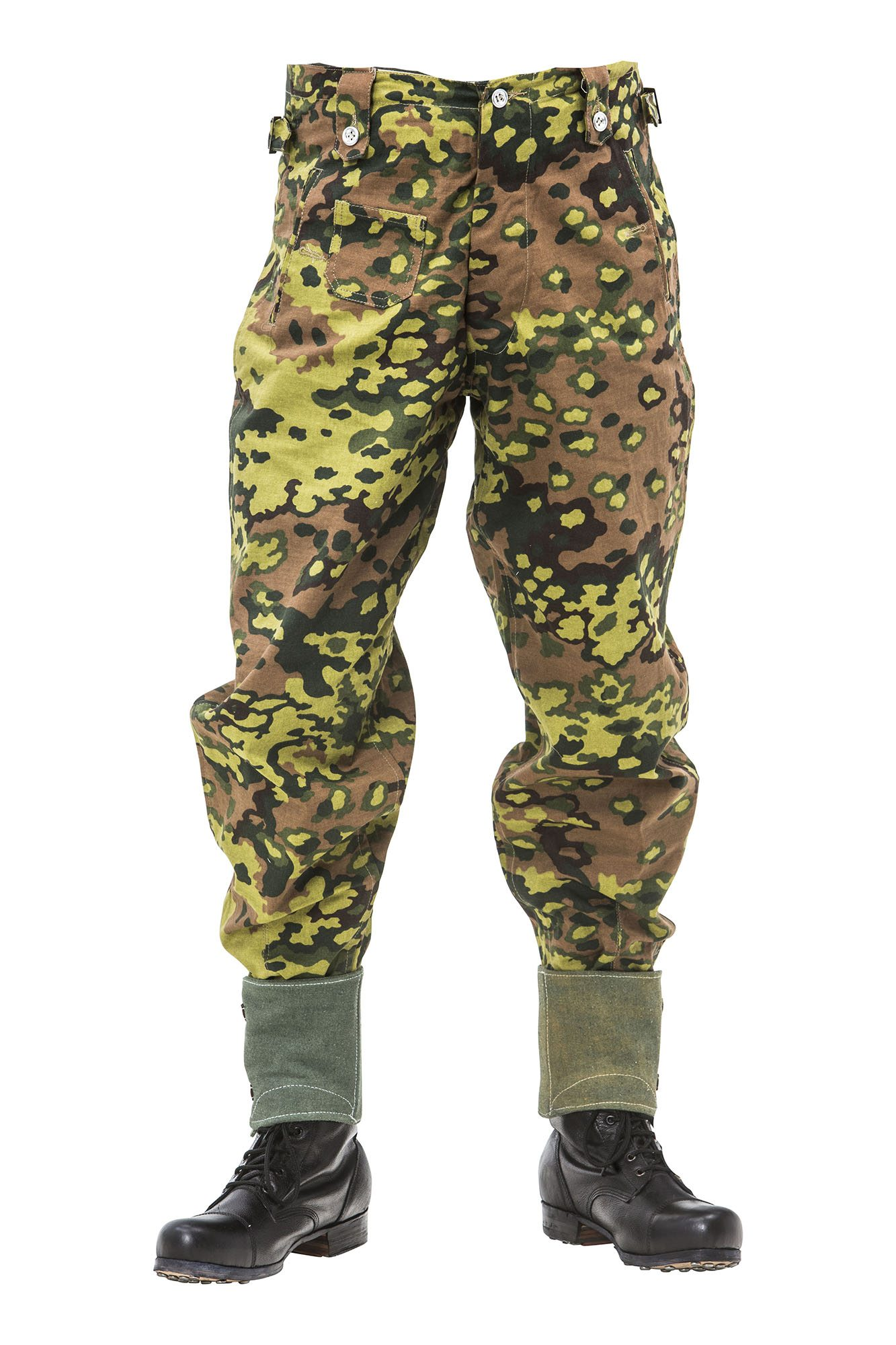 WW2 German M37 SS Oak B camo Spring trousers