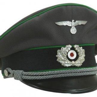WW2 German Army officers tricot cap GEBIRGSJAGER