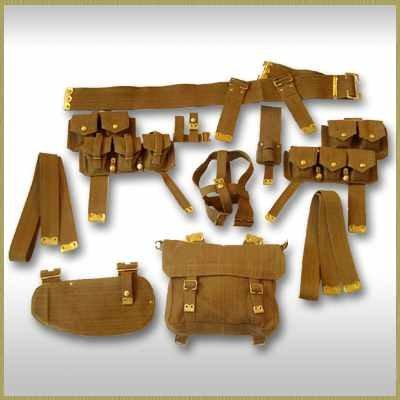 WW1 British and Commonwealth webbing and equipment