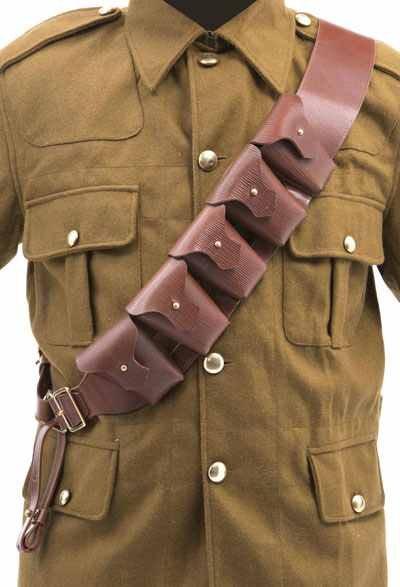 WW1 British P03 5 pouch bandolier