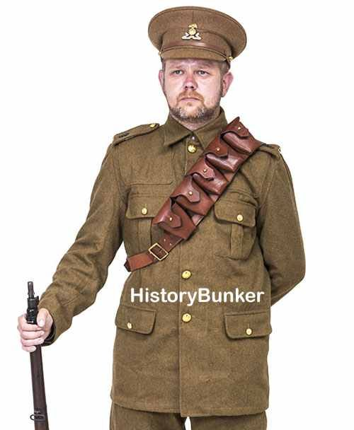 WW1 British P03 9 pouch bandolier