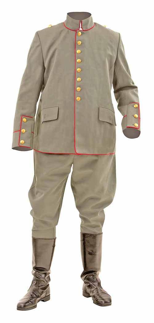 WW1 German army officers uniform