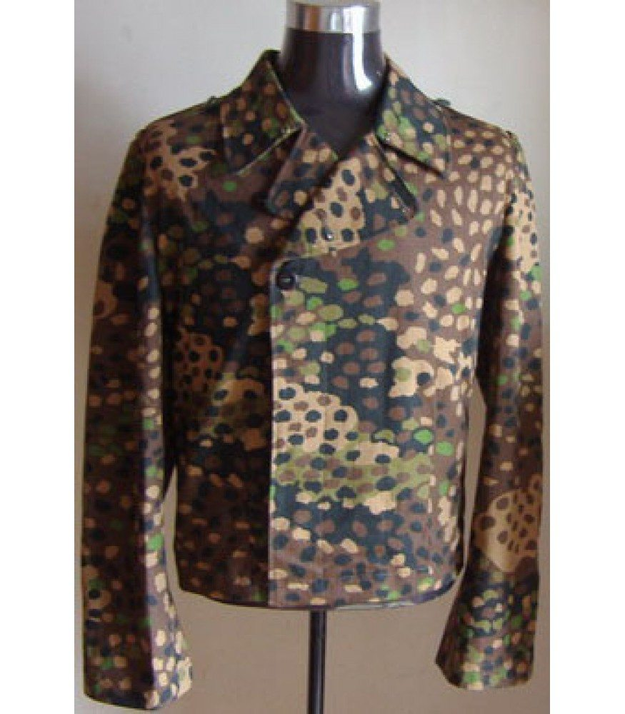 WW2 German Pea Dot camouflage Panzer Wrap Tunic