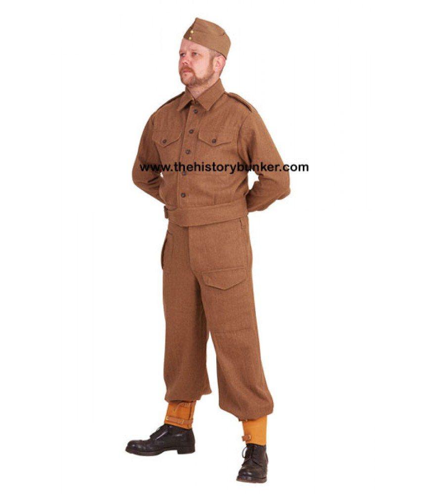 WW2 British Army uniform