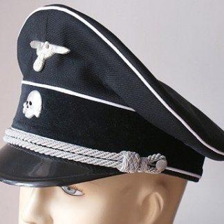 WW2 German SS helmets, hats and visor caps