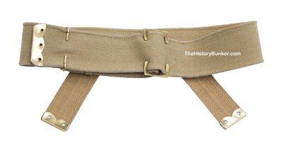 WW1 British army P08 webbing belt