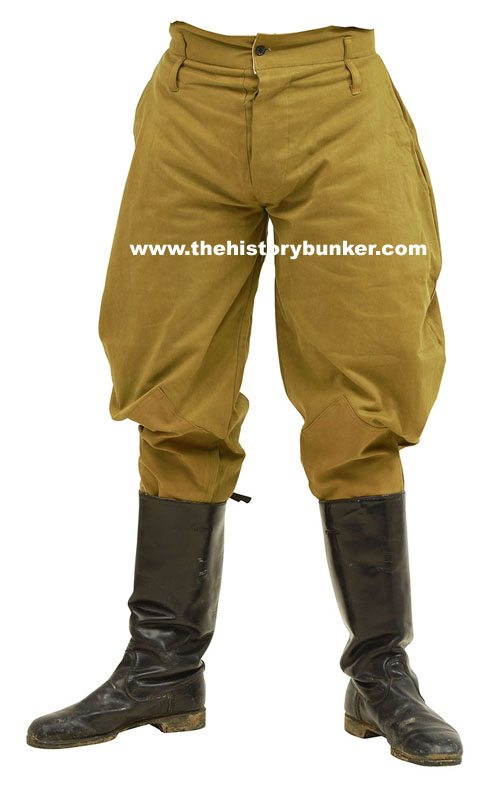 WW2 Soviet Russia trousers and breeches