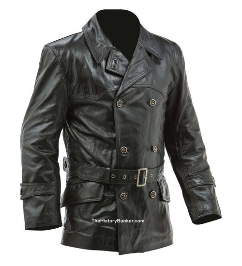 WW1 German fighter pilot leather jacket