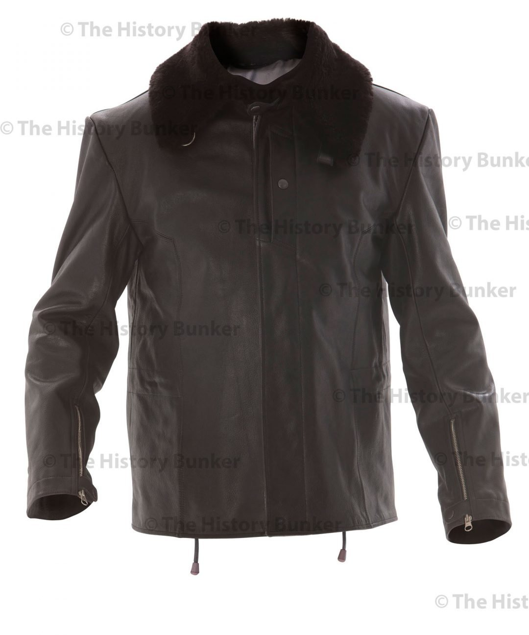 WW2 German Luftwaffe Jet Pilots leather jacket - black