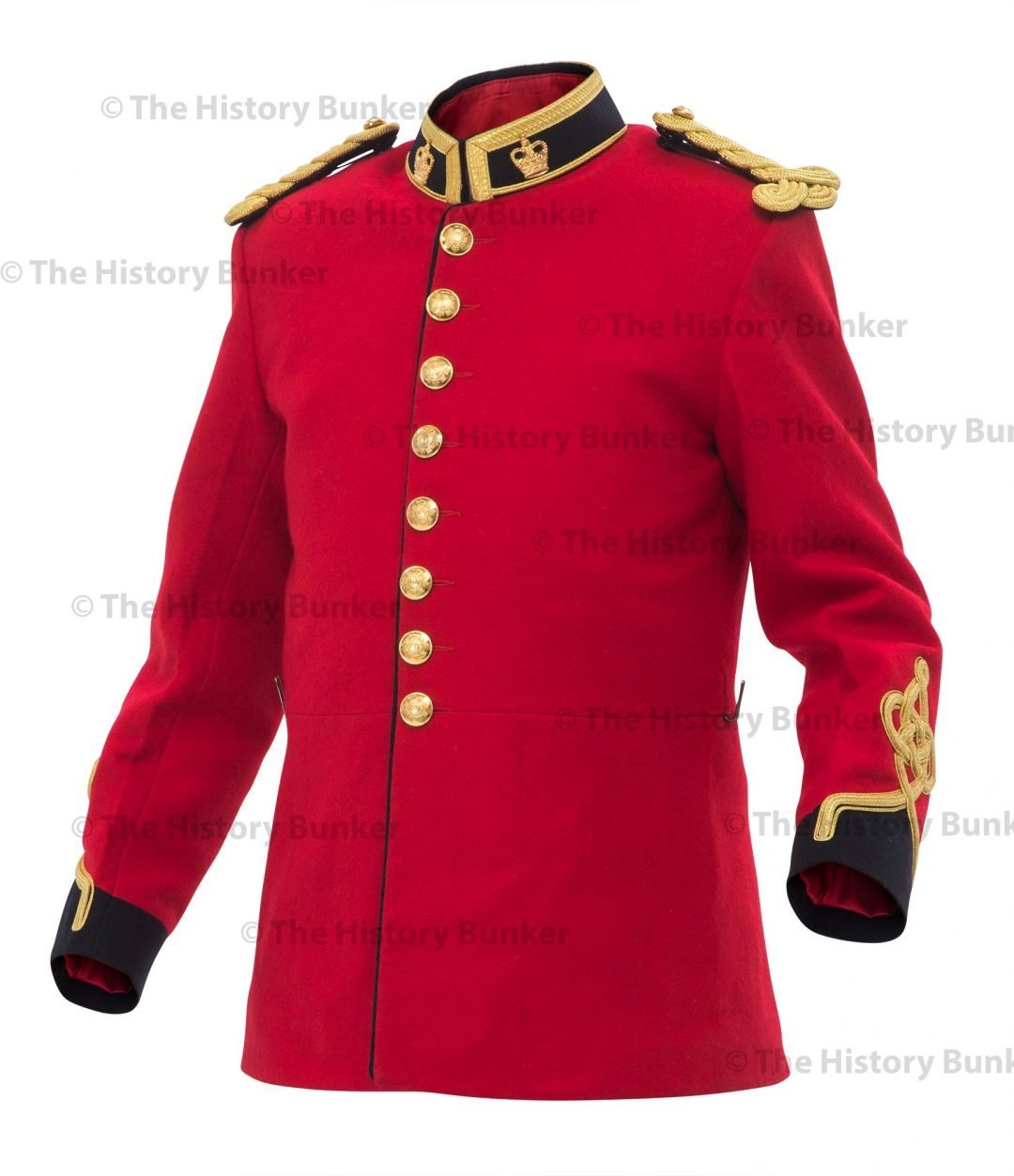 Victorian royal engineers tunic