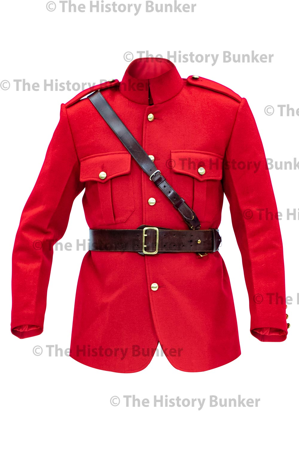 1904 Canadian North West Frontier Police tunic